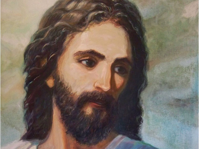 Yeshua – The Face of Love – Acrylic on Canvas